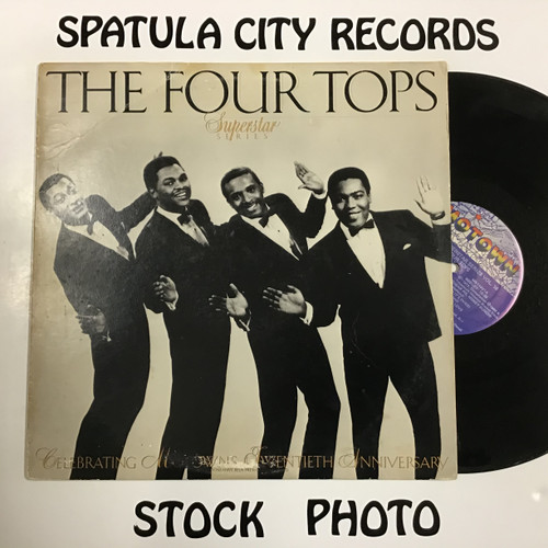 Four Tops, The - The Four Tops Motown Superstar Series, Volume 14 - vinyl record LP