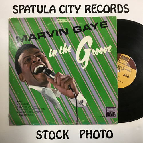 Marvin Gaye - In The Groove - vinyl record LP