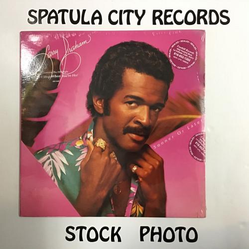 Larry Graham - Sooner or Later - SEALED - vinyl record LP