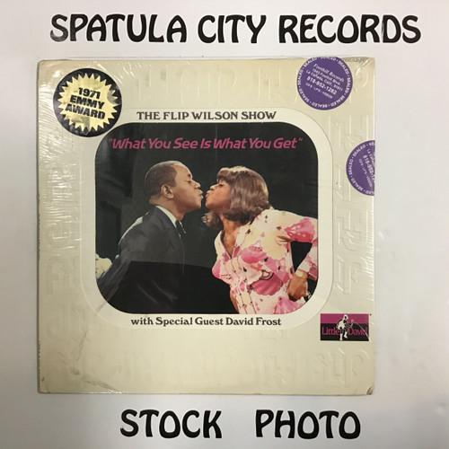 Flip Wilson with special guest David Frost - Flip - The Flip Wilson Show - SEALED - vinyl record LP