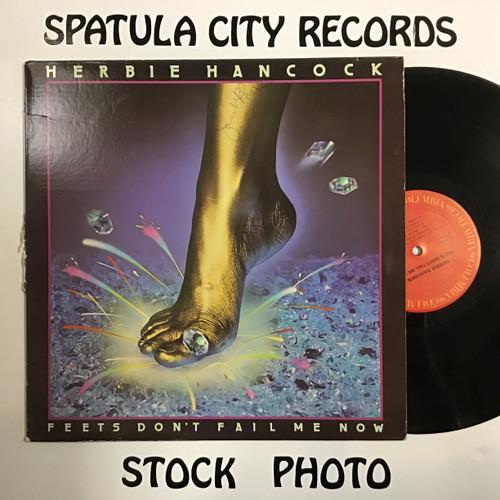 Herbie Hancock - Feets Don't Fail Me Now - vinyl record LP
