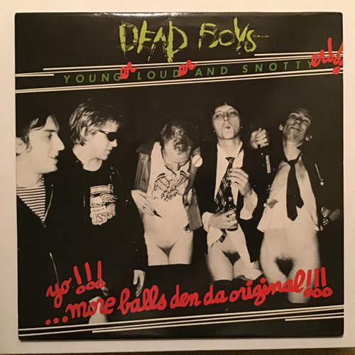 Dead Boys, the - Younger, Louder and Snottyer Vinyl record