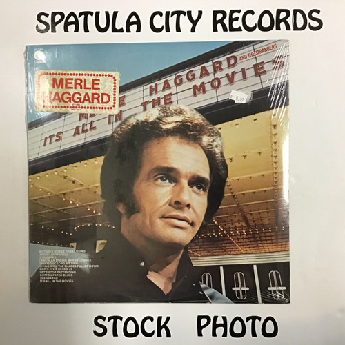 Merle Haggard - Its All In The Movies - SEALED - vinyl record LP