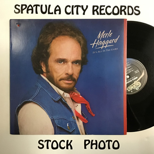Merle Haggard - It's All in the Game - vinyl record LP