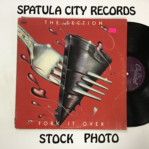 Section, The - Fork It Over - vinyl record LP