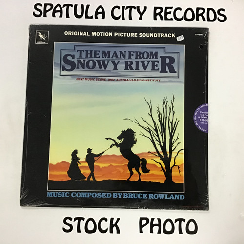 Bruce Rowland - The Man From Snowy River - soundtrack - SEALED - vinyl record LP