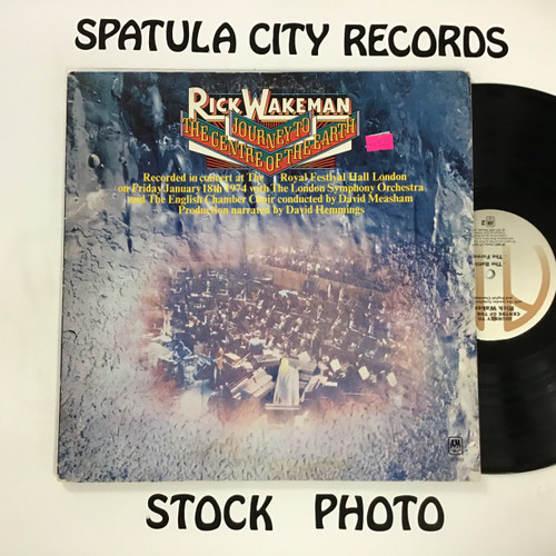 Rick Wakeman - Journey to the Centre of the Earth - vinyl record LP