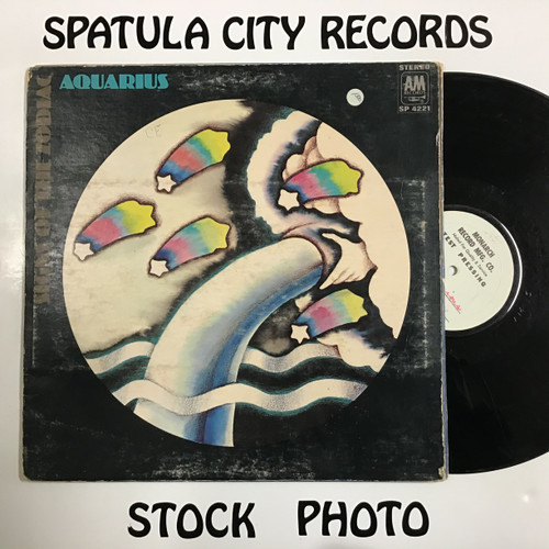 Signs of The Zodiac - Aquarius - vinyl record LP