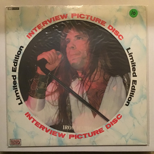 Iron Maiden - Picture Interview Disc Vinyl record