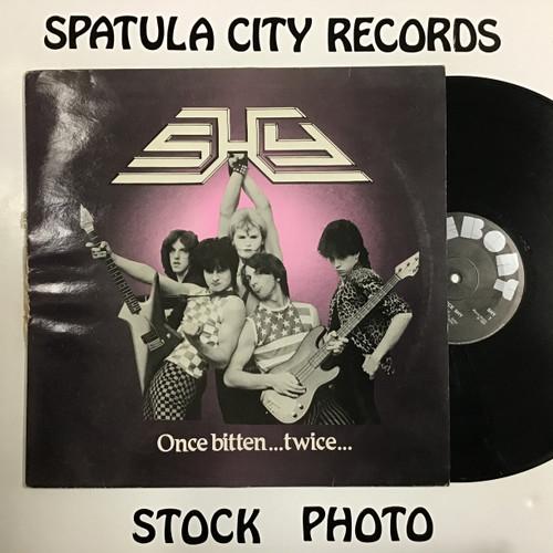 Shy - Once Bitten, Twice Shy - IMPORT - vinyl record LP