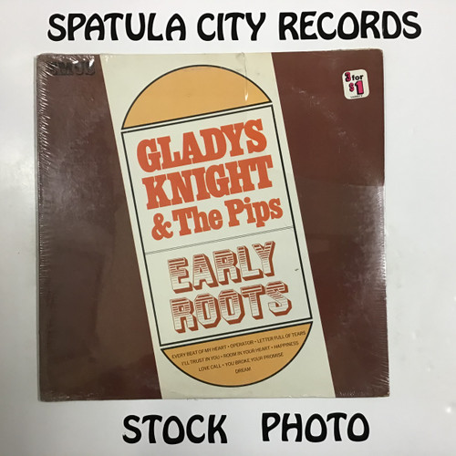 Gladys Knight and the Pips - Early Roots - SEALED - vinyl record LP