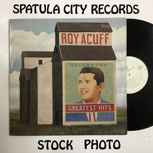 Roy Acuff - Greatest Hits Volume Two - PROMO - vinyl record LP