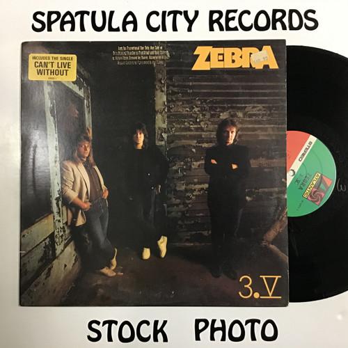 Zebra - 3.V - vinyl record LP