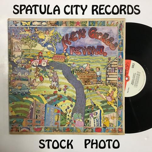 Newgrass Revival - Barren County - vinyl record LP
