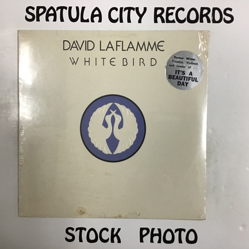 David LaFlamme - White Bird - SEALED - IMPORT - vinyl record LP