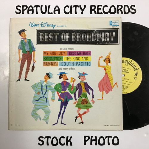Walt Disney Presents The Best of Broadway - compilation - vinyl record LP