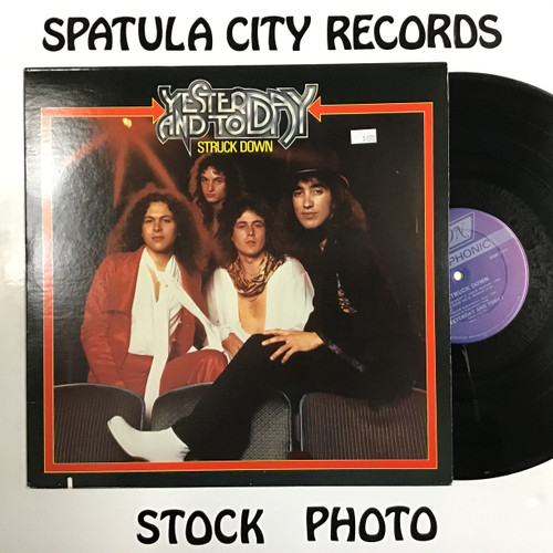 Yesterday and Today - Struck Down - vinyl record LP