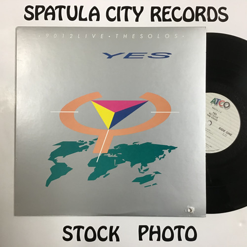 Yes - 9012Live-The Solos - vinyl record LP