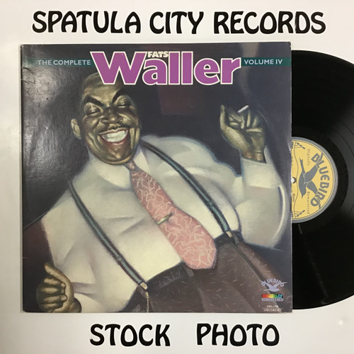 Fats Waller - The Complete Fats Waller, Volume IV - MONO - double vinyl record LP