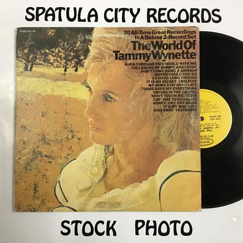 Tammy Wynette - The World of Tammy Wynette - double vinyl record LP