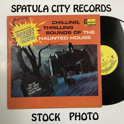 Chilling, Thrilling Sounds of The Haunted House - compilation - vinyl record LP