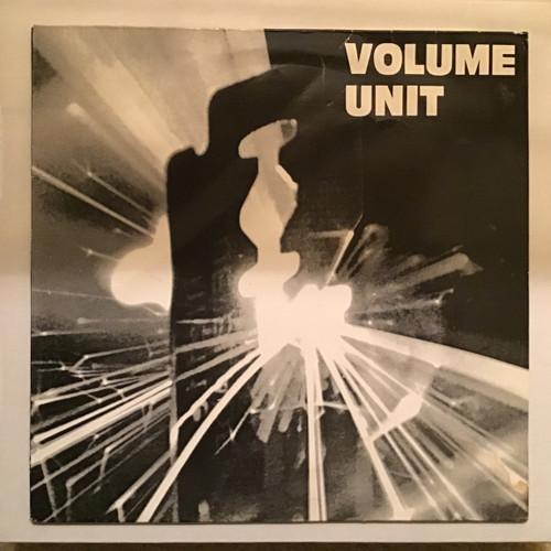 Volume Unit - Black and White Vinyl record