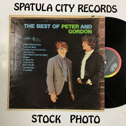 Peter and Gordon - The Best of Peter and Gordon - MONO - vinyl record LP