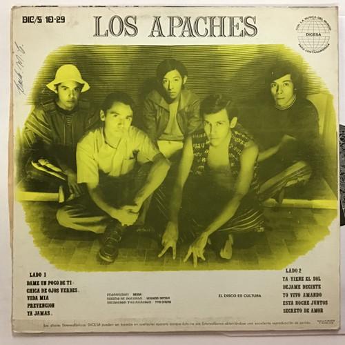 Los Apaches - Dame Un Poco De Ti - IMPORT - Vinyl record album LP