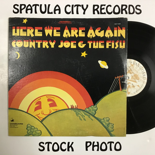Country Joe and the Fish - Here We Go Again - vinyl record LP