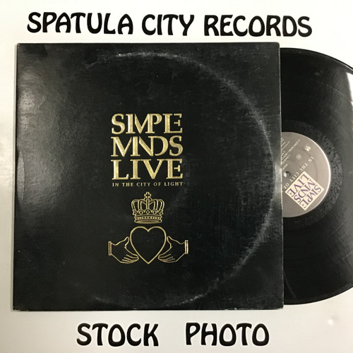 Simple Minds - In the City of the Light - double vinyl record LP