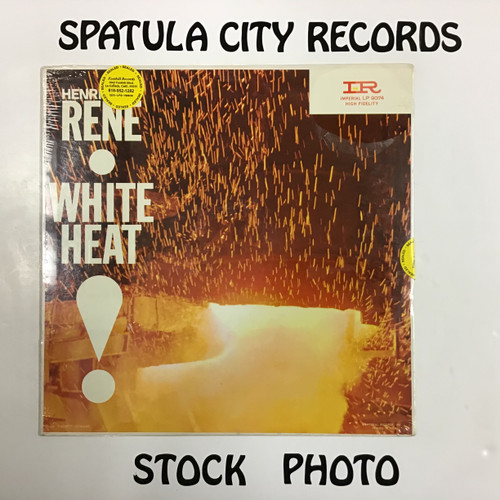 Henri Rene and His Orchestra - White Heat - SEALED - vinyl record LP