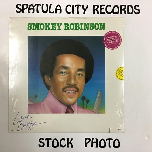 Smokey Robinson - Love Breeze - SEALED - vinyl record LP