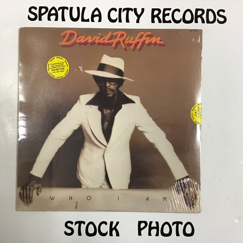 David Ruffin - Who I Am - SEALED - vinyl record LP