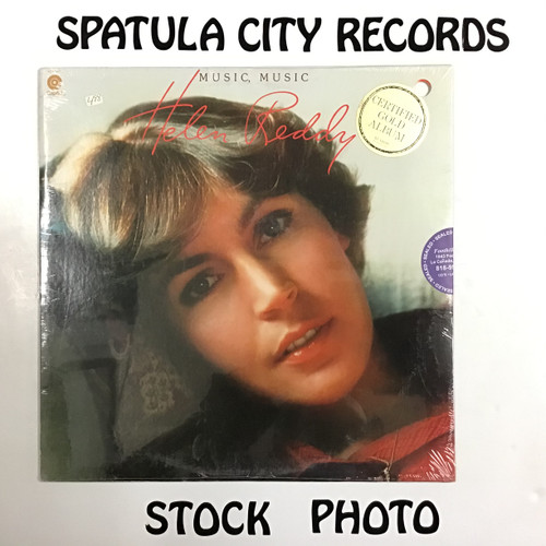 Helen Reddy - Music, Music - SEALED - vinyl record LP