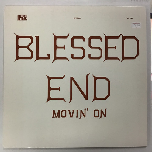 Blessed End - Movin' On  Vinyl record