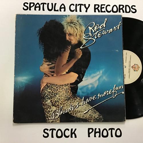 Rod Stewart - Blondes Have More Fun - vinyl record LP
