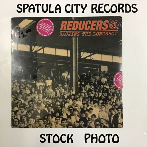 Reducers SF - Backing The Longshot - SEALED - vinyl record LP