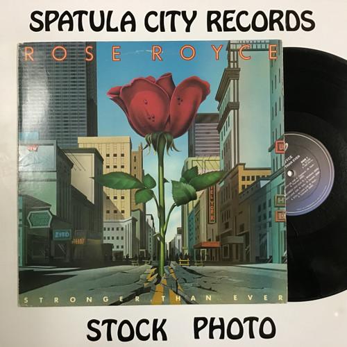 Rose Royce - Stronger Than Ever - vinyl record LP