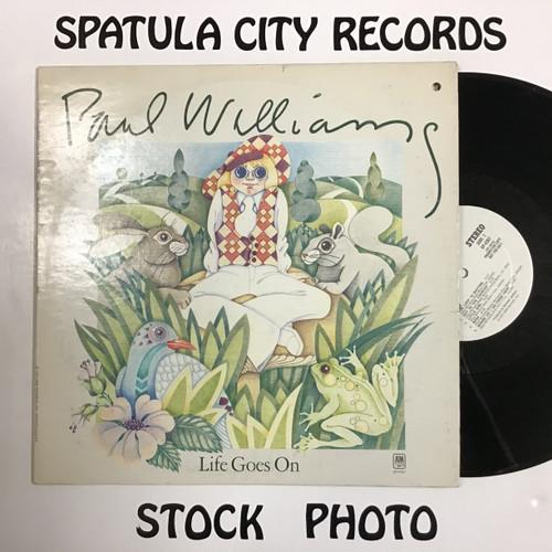 Paul Williams - Life Goes On -  WLP PROMO - vinyl record LP
