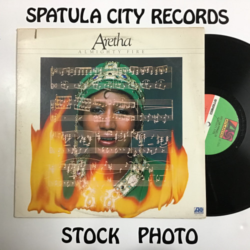 Aretha Franklin - Almighty Fire - vinyl record LP