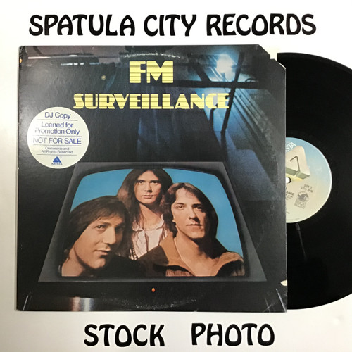 FM - Surveillance - PROMO -  vinyl record LP