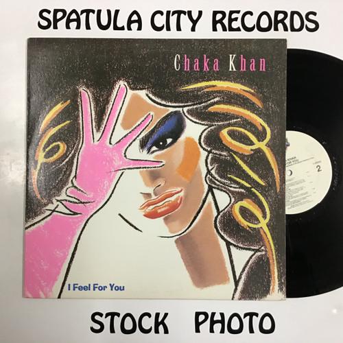 Chaka Khan - I Feel For You - vinyl record LP