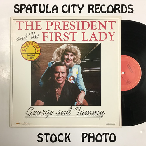 George Jones and Tammy Wynette - The President and The First Lady - vinyl record LP