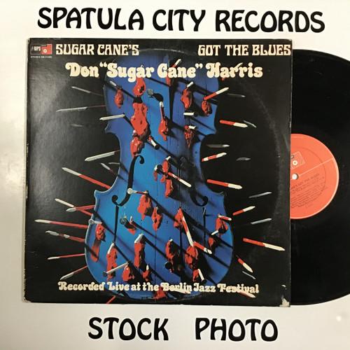 Don Sugarcane Harris - Sugar Cane's Got the Blues -vinyl record LP