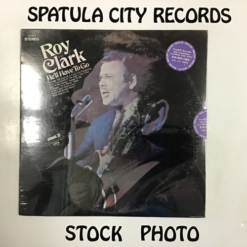 Roy Clark - He'll Have To Go - SEALED - vinyl record LP