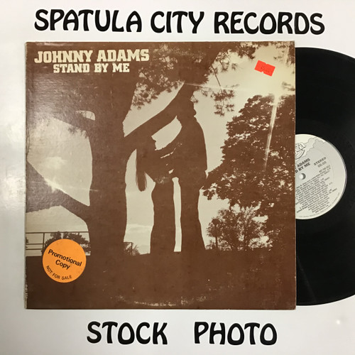 Johnny Adams - Stand By Me - PROMO - vinyl record LP
