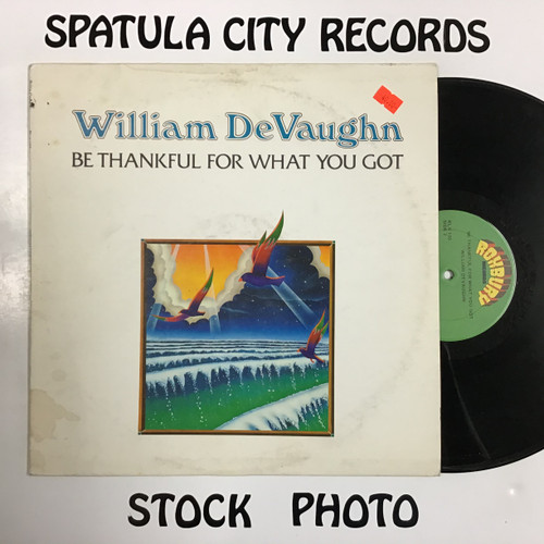 William DeVaughn - Be Thankful For What You Got - vinyl record LP