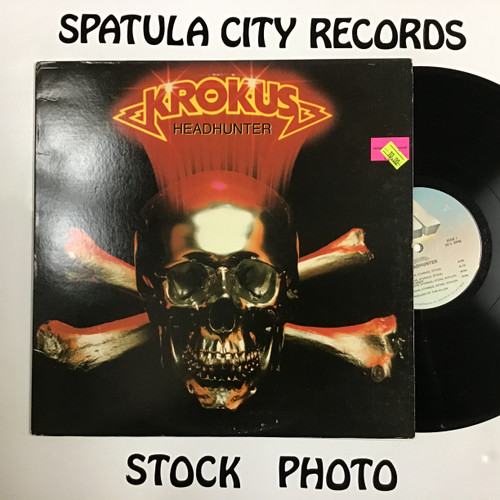 Krokus - Headhunter - vinyl record LP