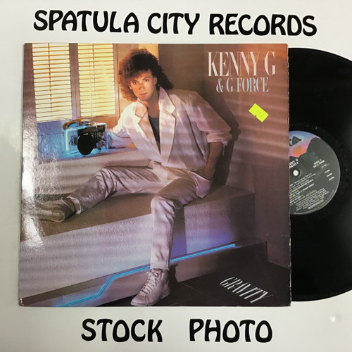 Kenny G - Gravity - vinyl record LP