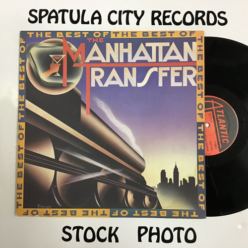 Manhattan Transfer, The - The Best of The Manhattan Transfer - voyl record LP